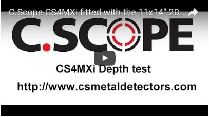 C.SCOPE CS4MXi Metal Detector