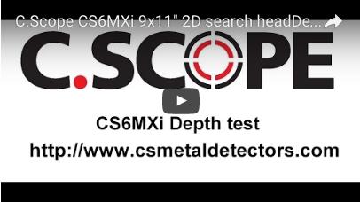 C.SCOPE CS6MXi Metal Detector 9x11