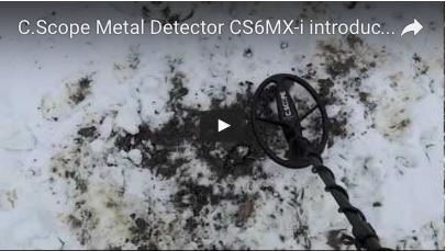 C.SCOPE CS6MXi Metal Detector introduction video