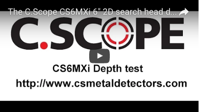 C.SCOPE CS6MXi Metal Detector 6